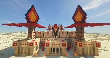 The Burning Desert - The Prison Minecraft Map & Project