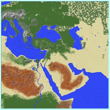 The Middle East Minecraft Map & Project