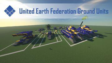 Supreme Commander 2 UEF Ground Units Minecraft Map & Project