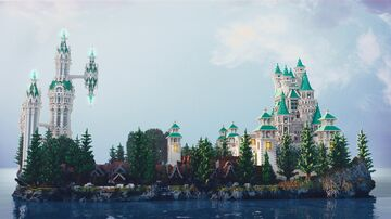 Crystal Palace - by LeadPro Minecraft Map & Project