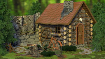 Lone Cabin Minecraft Map & Project