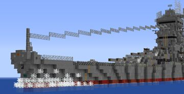 (1.16+) Imperial Japanese Navy: Yamato Minecraft Map & Project