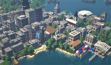 The City of Marcy v1.01 Minecraft Map & Project