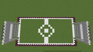 soccer minigame Minecraft Map & Project