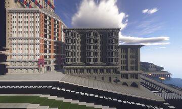 New Lapusia City Police Department - 1st Precinct   Devil's Diner   New Lapusia City Minecraft Map & Project