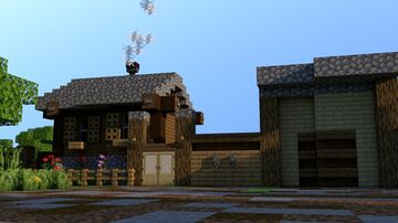 RUSSIAN VILLAGE HOUSE | FREE DOWNLOAD Minecraft Map & Project