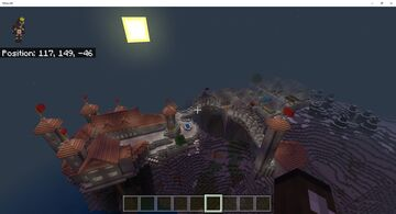 Castle with town and a few cool houses Minecraft Map & Project