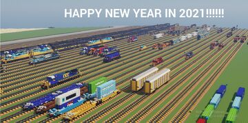 HAPPY NEW YEAR!!!!! Minecraft Map & Project