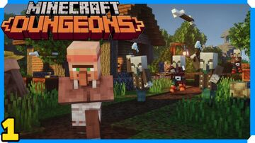 Minecraft Dungeons Full Game Walkthrough | 1 | Creeper Woods Minecraft Blog