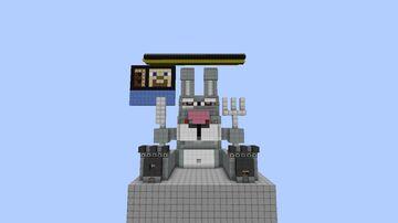 EVIL BUNNY BOSS FIGHT V2!! Minecraft Map & Project