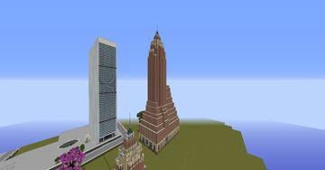 70 Pine Street New York Minecraft Map & Project