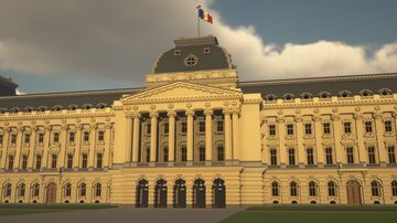 Royal Palace of Brussels Minecraft Map & Project