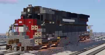 Southern Pacific EMD SD45 Diesel Road Switcher Minecraft Map & Project