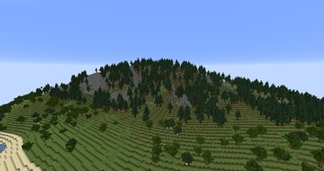 Large Survival Island Minecraft Map & Project