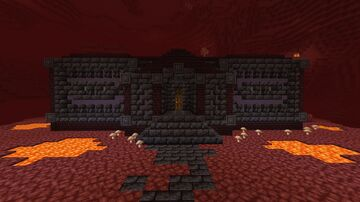 House for a Wither Skeleton Girl Minecraft Map & Project