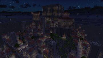 Fantasy City Miniriath Gloria (progressed) Minecraft Map & Project
