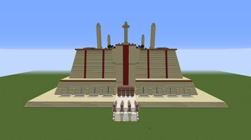 Coruscant Jedi Temple Minecraft Map & Project