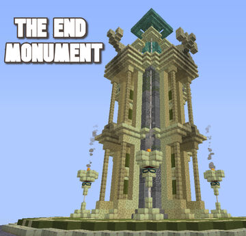 The END monument Minecraft Map & Project