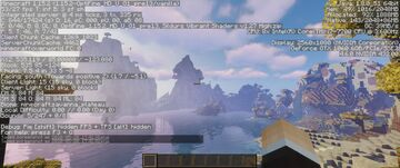 incredibly beautiful landscape Minecraft Map & Project