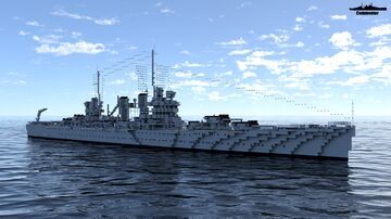 USS Brooklyn 1:1 Scale Minecraft Map & Project