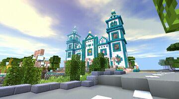 🇭🇳 Basilica de Suyapa 🇭🇳 MINECRAFT PE Minecraft Map & Project