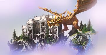 Dragons Stronghold Minecraft Map & Project