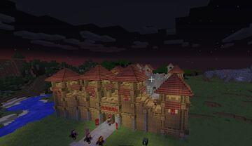 RomanFort Minecraft Map & Project
