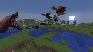Flying Fish Garden Minecraft Map & Project