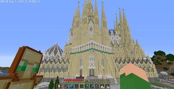 La Sagrada Familia IN SURVIVAL! Minecraft Map & Project