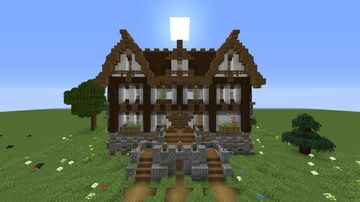 Manor Starter House Minecraft Map & Project