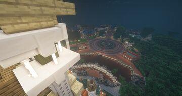 Hub (Hong Kong Disneyland) Minecraft Map & Project