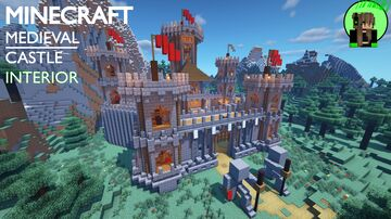 Medieval Castle Tutorial Minecraft Map & Project