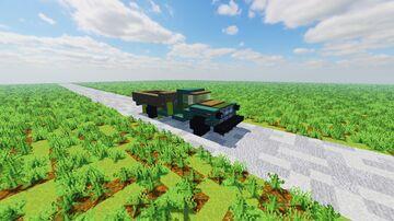 GAZ-53 Minecraft Map & Project