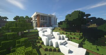 Modern House by JustHumbleNick Minecraft Map & Project