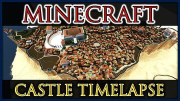 Desert Castle of Masada [Castle Record] Minecraft Map & Project