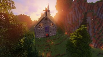 ⛪ Church ⛪  |  The Loft MC Minecraft Map & Project
