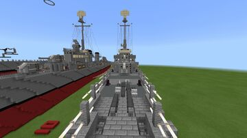 USS Kidd Minecraft Map & Project