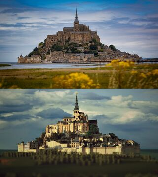 Repro - Mont Saint Michel Minecraft Map & Project