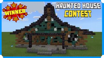 Minecraft Halloween Haunted House Contest Winner - Carroty Minecraft Map & Project