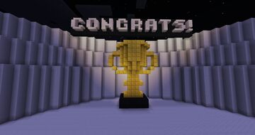 Golden Trophy Minecraft Map & Project