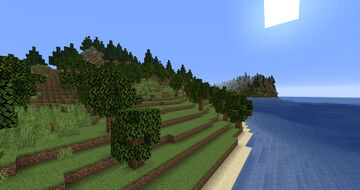 Mixed Biomes Island Minecraft Map & Project