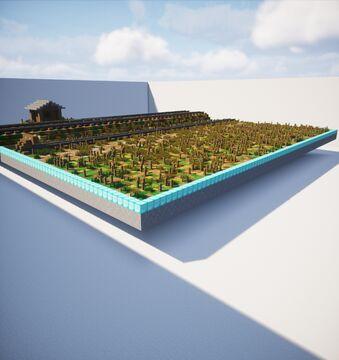 Small Railway Diorama Minecraft Map & Project