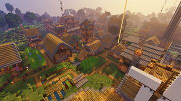 Hardcore Village Minecraft Map & Project