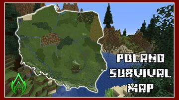 Poland Map (Survival Skyblock Map) Minecraft Map & Project