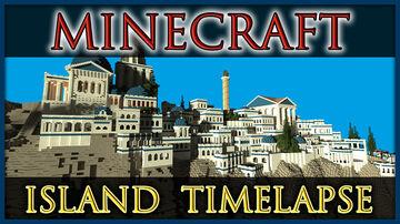Santorini Greek Island City [Timelapse] Minecraft Map & Project