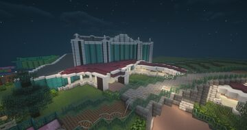 Storybook Theater (Hong Kong Disneyland) Minecraft Map & Project