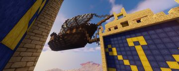 Ferry Airship Minecraft Map & Project