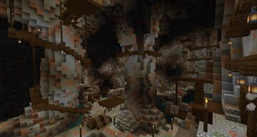 The ancient cave Minecraft Map & Project