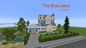 The Blue Lakes | Interior Decoration Contest Minecraft Map & Project