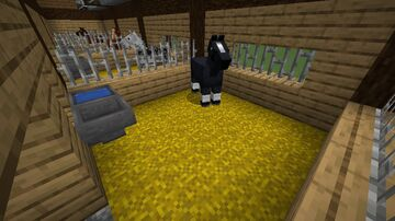 happy horse stable Minecraft Map & Project